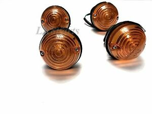 Land Rover Defender Seies 2 3 Front Flasher Lamp Amber 12V Set of 4 RTC5013 New