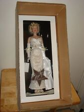 Franklin Mint Marilyn Monroe Movie Debut Vinyl Portrait Doll B11E687 Brand New.