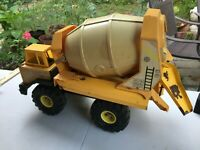 Vintage Tonka Cement Mixer Mighty Turbo Diesel XMB-975 1980s Yellow *Restore