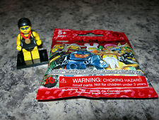 SEALED LEGO Series 7 minifigure SWIMMING CHAMPION 8831 Olympic swimmer NEW