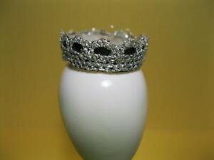 1998 Mattel TERESA Barbie doll VERY VELVET Black/SILVER CLOTH Tiara head Crown