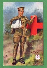 Red Cross Harry Payne pc unused  Tuck 8762 Ref M242