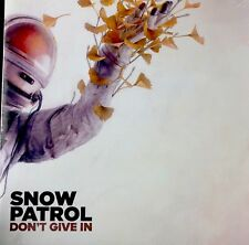 """SNOW PATROL - DON'T GIVE IN SEALED 10"""" PICTURE SLEEVE RSD 2018 RECORD STORE DAY"""