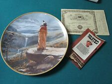 """""""THE PROMISED LAND"""" BY JOE BEELER FROM WELLS FARGO COLLECTOR PLATE NIB"""