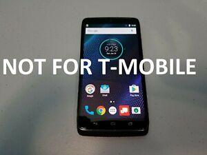 Motorola Droid Turbo XT1254 - 32GB - Black (Verizon) Unlocked Very Good