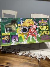 MMPR Mighty Morphin Power Rangers Power Cannon Vintage Complete All Pieces