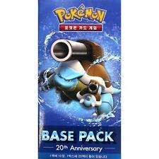 1 Booster Pokémon XY : 20th Anniversaire Base Pack Mega Blastoise - Coréen