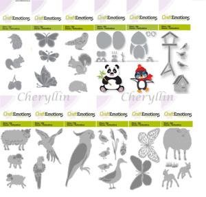 Craft Stencil Cutting Die - Ducks, Lambs, Owl, Squirrel, Hedgehog, Birds &More!