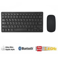 Tastiera wireless ultra slim sottile & set di mouse Combo 2.4GHz per PC Laptop