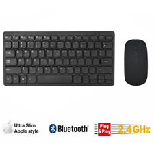 Ultra Slim Thin Wireless Keyboard & Mouse Set Combo 2.4GHz Kit for PC Laptop YII