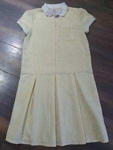 Girls School Summer Dress Age 10-11 Years