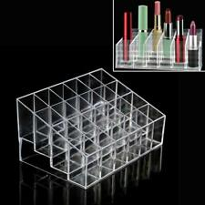 Clear -Lipstick Display Holder Acrylic Cosmetic Organizer Makeup Storage Case
