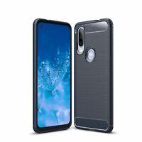 Motorola One Action Case Phone Cover Protective Case Cases Blau