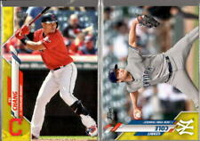 2020 Topps Series 2 Walgreens Yellow Parallel #351-700 - You Pick From A List