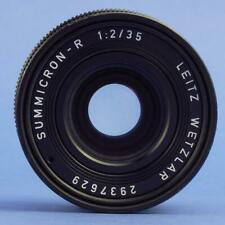 Leica Summicron-R 35mm F2 II 3-Cam Lens