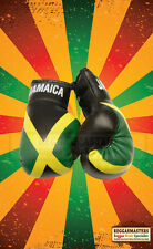 Jamaica Mini Boxing Gloves-Roots Reggae-hang in your car
