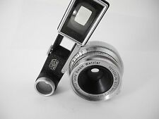 LEICA 3.5 SUMMARON WITH EYES PERFECT GLASS SMOOTH OPERATING NICEST ONE I HAVE