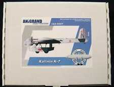 Anigrand Models 1/144 KALININ K-7 Giant Russian Transport