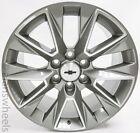 4 New Chevy Suburban Silverado Tahoe Silver Machined 20 Wheels Rims Lugs 5919