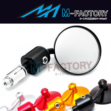 MF CNC Side Bar End Mirrors Piaggio KTM Ducati Buell Victory 17mm 14mm