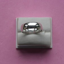 Beautiful Solid 925 Silver Ring 2.6 Gr. Size N - P - R  - T In Gift Box