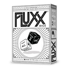 Fluxx Dice Expansion Card Game From Looney Labs For Any Fluxx Game LOO-066
