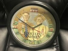 Vintage Rare Bartles & Jaymes Advertising Wall Clock Wine Coolers