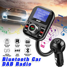 bluetooth Car DAB Kit Radio Receiver USB Adapter Tuner FM Transmitter + Antenna