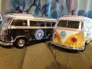 VW T1Kult  BULLI Bus Bluetooth Lautsprecher LED BT,MP3Radio usb Holstein Kiel **