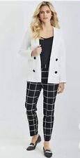 Kaleidoscope Double Breasted Blazer, Jacket, Coat Red New Worth £59 Size 18