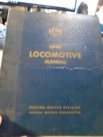 Railroad book  GP40 Locomotive Manual General Motors