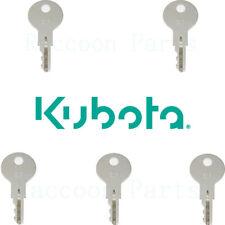 5 Kubota Rtv1100 Cab Door Keys K7711 29530