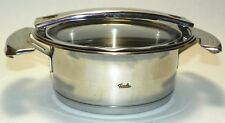 Fissler Cookstar Stainless Steel 1L Pot w/Glass Lid #2903 Made in Germany