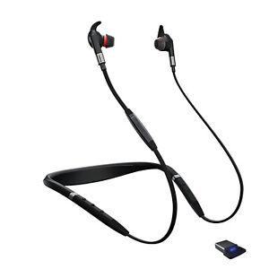 Jabra Evolve 75e UC Wireless Bluetooth Earbuds (Manufacturer Refurbished)