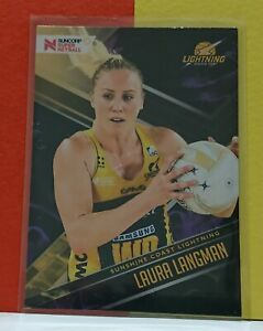 2019 Suncorp Super Netball - Laura Langman - Sunshine Coast Base Trading Card 72
