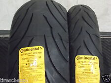 TWO TIRE SET 120/70ZR17 & 200/50ZR17 CONTINENTAL SPORT BIKE MOTORCYCLE TIRES