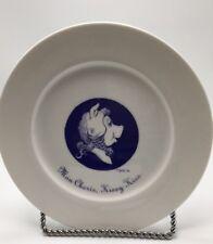 Rare Unesco Felissimo Tribute 21 Plate Jim Henson Miss Piggy Mon Cherie Kissy