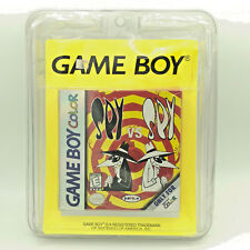 Spy vs Spy - Nintendo Game Boy Color 1999 - SEALED Blister Pack - RARE H-Seam