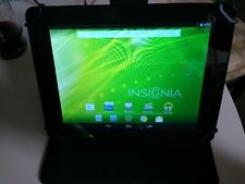 """Insignia Flex NS-14T002 8"""" 8GB Tablet 1.2GHz Dual Core Android 4.2 and Solo case"""