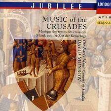 David Munrow, Early - Music of the Crusades: 12 & 13 Century Music [New CD]