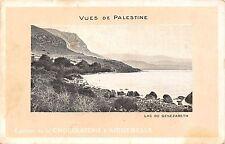 Vues de Palestine Lac de Genezareth Edition de la Chocolaterie d'Aiguebelle