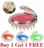 Silicone Massager Scalp Brush Shampoo Massage Comb Shower Head Hair Washing Kit