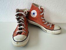 Converse All Star Chucks Sneaker Scarpe Da Ginnastica High Taylor in tessuto arancione tg. 6/39
