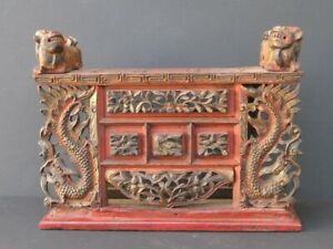 Antique Autel Wooden Carved, China