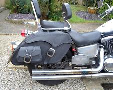 Moto De Cuero Negro Alforjas Alforjas Kawasaki Vn1500 1600 1700 2000