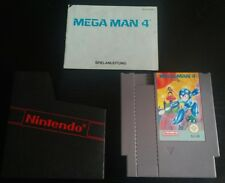 Mega Man 4 ++ Deutsch PAL ++ Anleitung ++ NES Nintendo Entertainment System