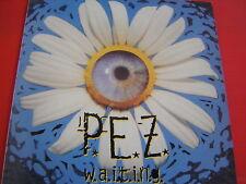 P.E.Z. W.A.I.T.I.N.G. VINYL PRESSING U.K.NUOVISSIMO LIMITED LP VINYL 1994 LOOK