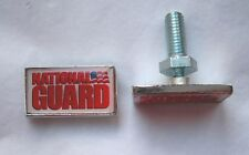 National Guard license plate bolts, made in America!
