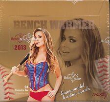 BENCHWARMER 2013 Hobby Trading Card  Box MINT