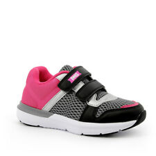 Primigi 5451400 nero fuxia sneaker bambina tessuto strappi